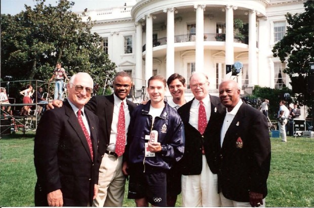 1996-olympics-with-usoc-executive-staff-at-the-white-house