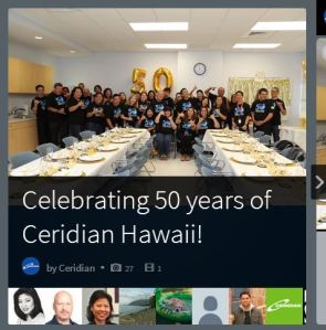 Ceridian Hawaii Storify
